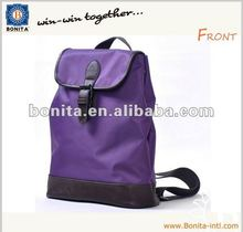 Fashionable backpack, nylon day backpack