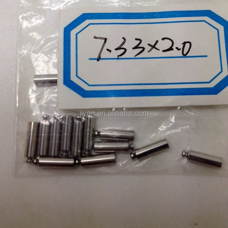 cnc machining threaded dowel pins and shafts split pin