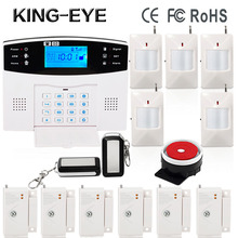 gsm home house farm sms auto dial burglar security alarm with small magnetic sensor security alarm