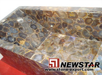 semiprecious tiles(GMS0156), gemstone bathtub