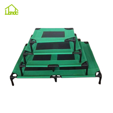 Private Label Outdoor Metal Dog Cot Elevated Metal Frame Dog Bed