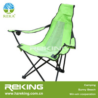 Green Triangle Folding Chair