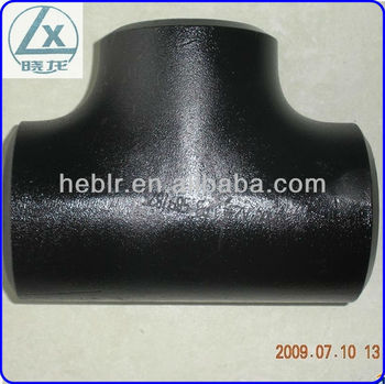 Best Sale A234 WPB Pipe Fittings Carbon Steel tee