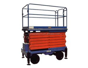 Auto mobile electric motorcycle scissor lift table
