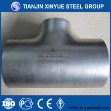factory Alloy steel tee pipe fitting with good quality