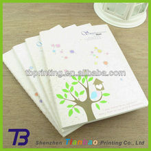 Custom logo printed cheap school notebook manufacturer