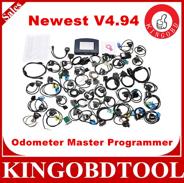 Full Software DHL Free Ship digiprog iii digiprog 3 odometer programmer with v4.94 version digiprog 3 of all adapter