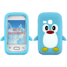 Cute Penguin Style Soft Protective Case for Samsung Galaxy Young S6310