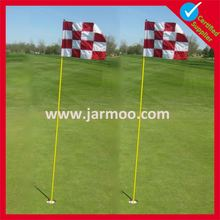 free design high quality mini golf flags