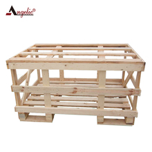 Customized Logistic Grid Transport Crates Wood Box Packaging