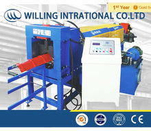 concrete roof ridge tile cap roll forming machine