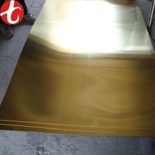Stock 0.5mm thick brass sheet