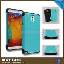 China wholesale shockproof cover case for samsung galaxy note 3 pc silicone combo case