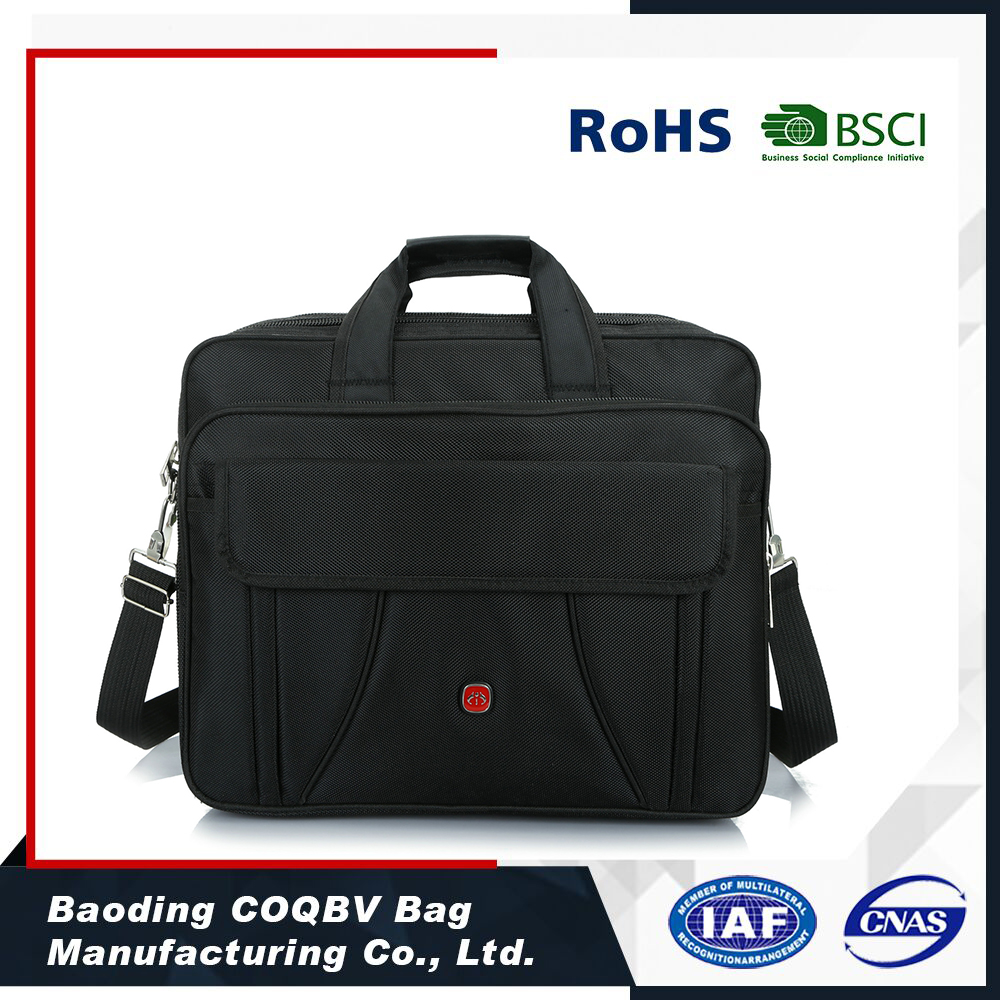 COQBV 2017 single shoulder customized lightweight durable polyester laptop computer bag
