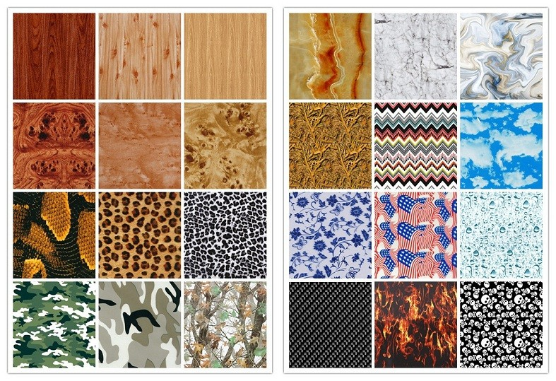 IVIP Bamboo Pattern IVM-6775 Hydrographic Film/Water Transfer Printing Film
