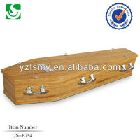 adult funeral coffin for the dead