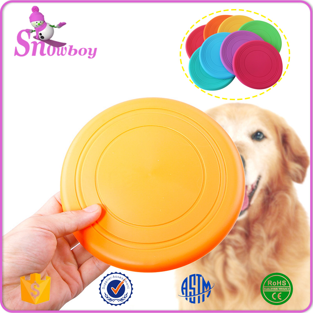 OEM Foldable Soft Silicone Pet Toys Dog Frisbee Wholesale