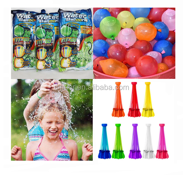 3 bunch 111 pieces bunch O water balloon wholesale