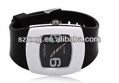 iron silicone sport watch for promotion gift