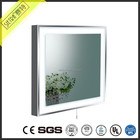 project anti fog steam Bathroom spot light Led back Lighted Bathroom Vanity Mirror with touched screen switch