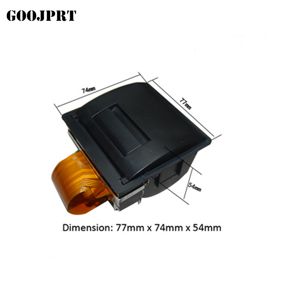 "2"" mini flat embedded thermal panel printer EPM207"