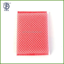 colorful scrubber pad mesh sponge