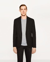 Guangzhou factory OEM service v neck blank men wool office top brand coat pant men suit