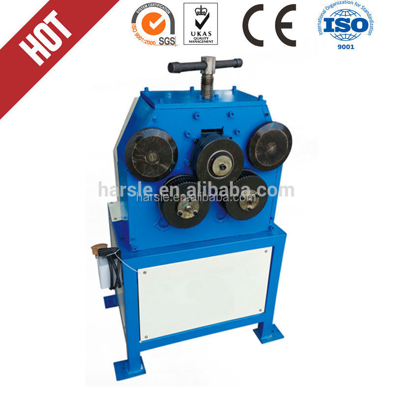 High quality HVC Round Duct Angle Iron Rolling Round Bending Machine