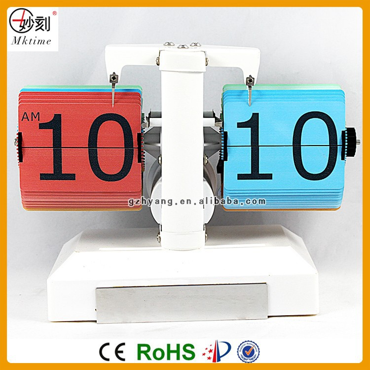 2016 new design desk flip clock with calendar