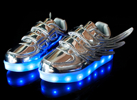 latest style pretty kid shoes for kids with led light