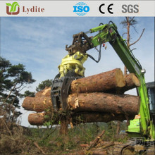 Hydraulic Excavator Wood Log Grapple, waste material grapple grab, Rotating Grapple, hydaulic Clamp, Grab