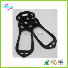 anti-slip ice grip silicone shoe covers for walk spikes
