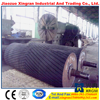 mechanical handling equipemnt trough roller impact idler rubber rollers
