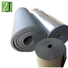 heat insulation self adhesive sound thermal insulation foam rubber sheet