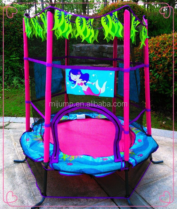 Fun and cute used trampoline for child