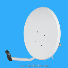 KU Band 60cm*65cm Parabolic Small Digital Solid Offset TV Dish Antenna Outdoor