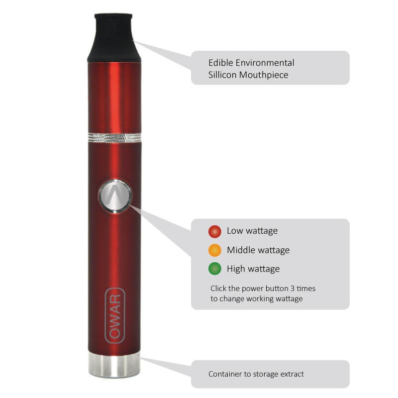 ATMAN OWAR Portable Vaporizer Pen For Wax the best pen vaporizer china supplier