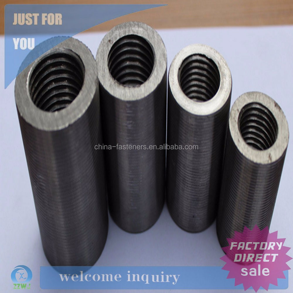 Construction Material Steel Rebar Threaded Couplers/Connectors/Sleeves