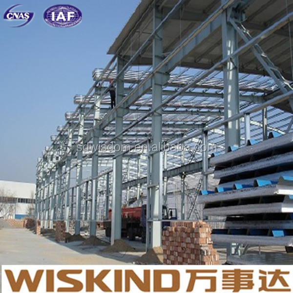 pre fabricated steel framing roof structure