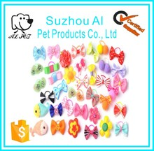 Pet Grooming Accessories Products Dogs Charms Gift Dog Hair Bows Little Flower Bows