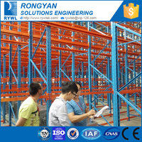 RYWL heavy duty adjustable warehouse pallet racking system