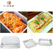 Disposable food take away Aluminum foil container for restaurant