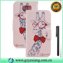 Mobile phone case new wallet stand cover for iphone 5c pu leather cell phone flip cover with card holder