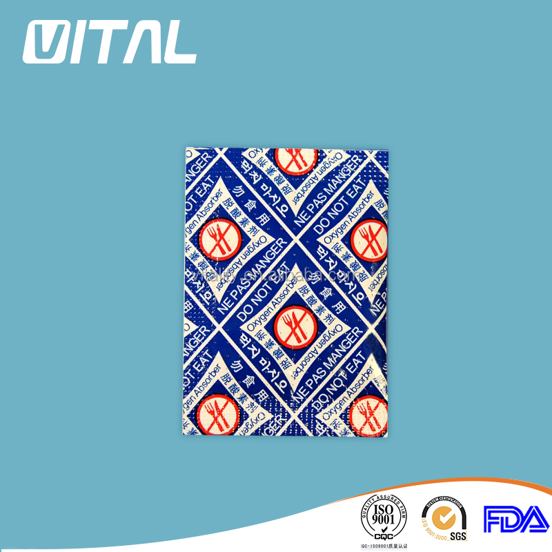 Food preservative 500cc oxygen absorber for snack