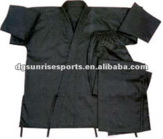 Black Karate Outfit Gi Karate sparring gear Karate uniforms Martial arts clothing