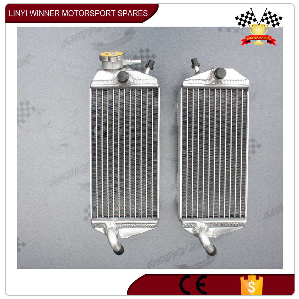 hot sale low price all aluminum motorcycle radiator
