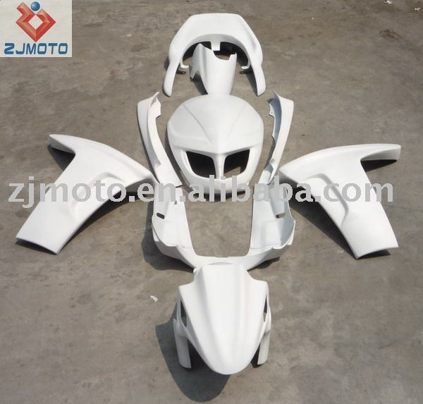 FRP Motorcycle Bodywork Fairing For YAMAHA majesty125 FRP Fairing Body Kits Cover(HRH)