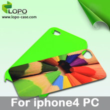 Sublimation Phone Case(For iphone 4 4s-Blue Color)