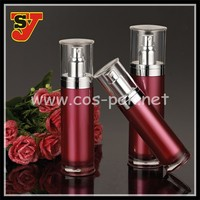 5oml attractive gradient red skin care cosmetic bottle top dispenser liquid for female