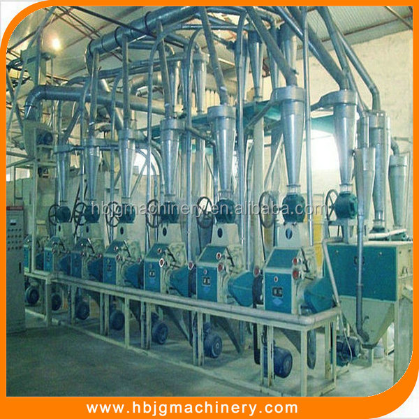 low price high output mini wheat flour mill with good quality